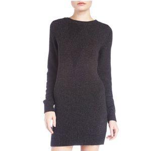 T Alexander Wang Silk Blend Sweater Dress Large